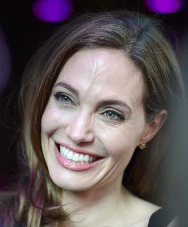 Angelina Jolie Smiling