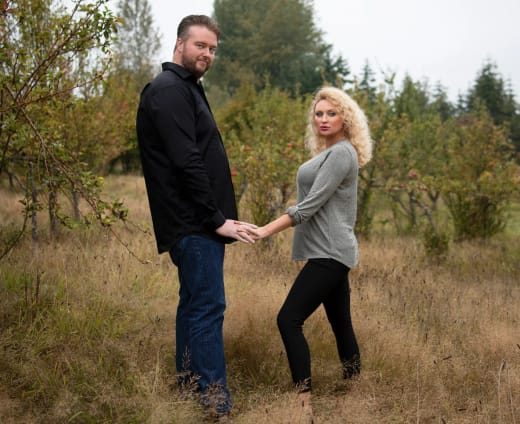 Mike Youngquist and Natalie Mordovtseva for 90 Day Fiance Season 8