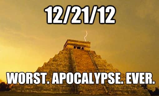 12/21/12 Apocalypse