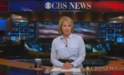 Katie Couric Signs Off CBS News