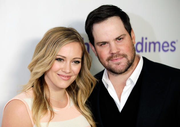 Hilary Duff and Mike Comrie Pic