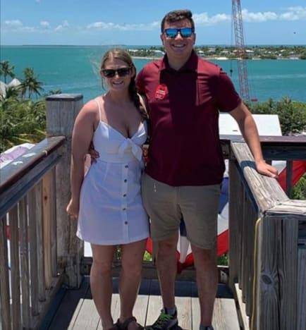 Jessica Seewald and Husband