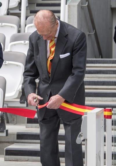 The Duke of Edinburgh at an Event