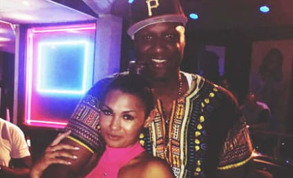 Lamar Odom Finishes Puking, Hits Strip Club