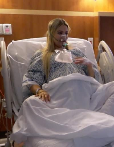 Khloe in Her Delivery Room