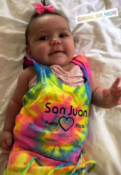 Ronnie's Baby in Puerto Rico