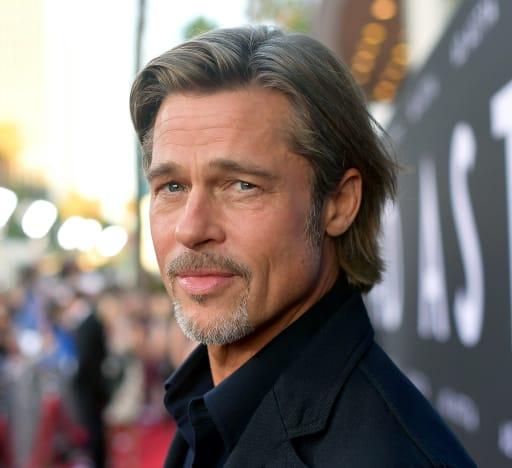 Brad Pitt Sizzles