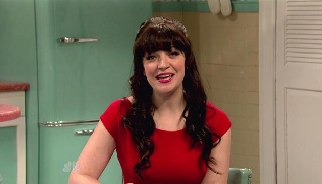 Abby Elliott on SNL
