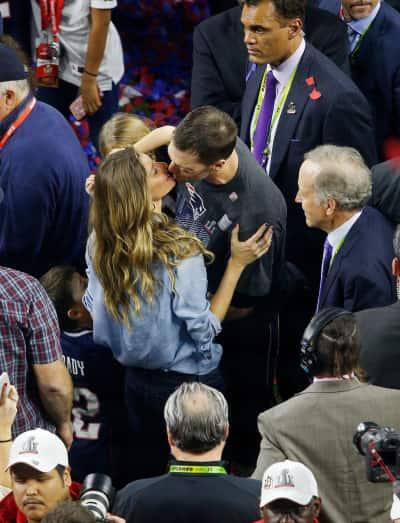 A Super Bowl Kiss
