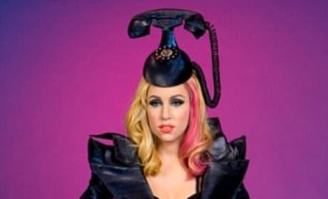 Hair Phone in Wax