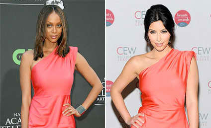 Fashion Face-Off: Tyra Banks vs. Kim Kardashian