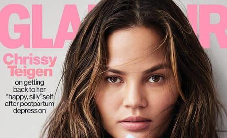 Chrissy Teigen Glamour Cover