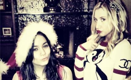 Vanessa Hudgens and Ashley Tisdale: Merry XXXMas!