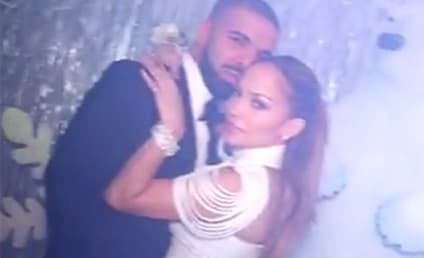 "Drake and Jennifer Lopez Cuddle Up at ""Prom,"" Confirm Romance"
