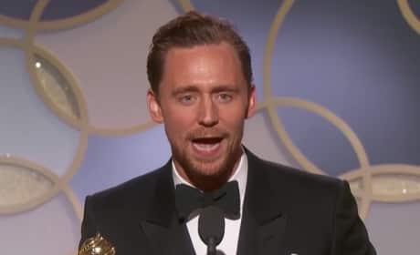 Tom Hiddleston Mocked, Slammed for Self-Serving Golden Globes Speech