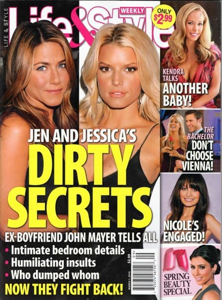 Jessica's Dirty Secrets