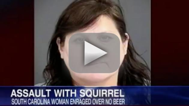 Woman Stabs Husband With Squirrel