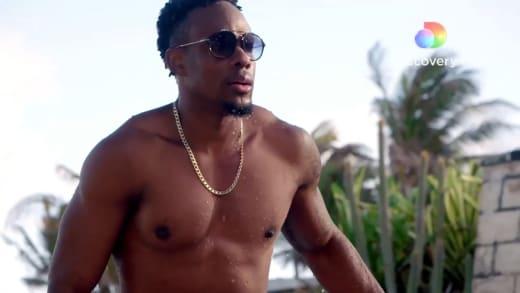 Steven on Love In Paradise: Caribbean