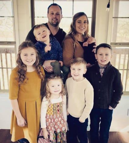 Josh and Anna Duggar Family Photo