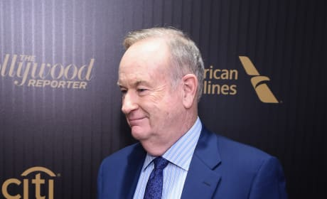 Bill O'Reilly Red Carpet Pic