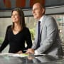 Savannah Guthrie and Matt Lauer on Set