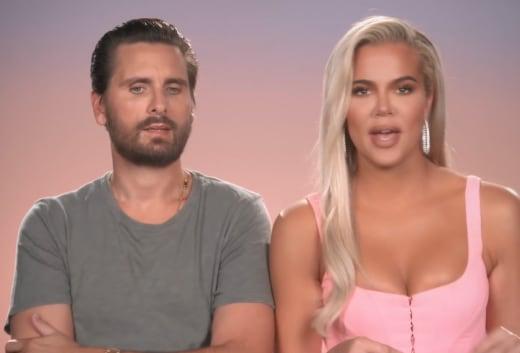 Scott Disick and Khloe Kardashian Plot Together