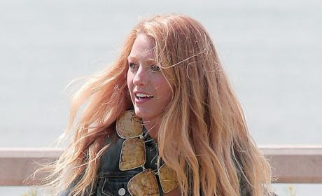 Blake Lively, Blonde Hair