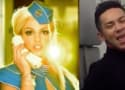 "Flight Attendant Makes Like Britney, Recreates ""Toxic"" Video"