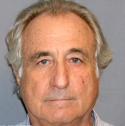 Bernie Madoff Mug Shot