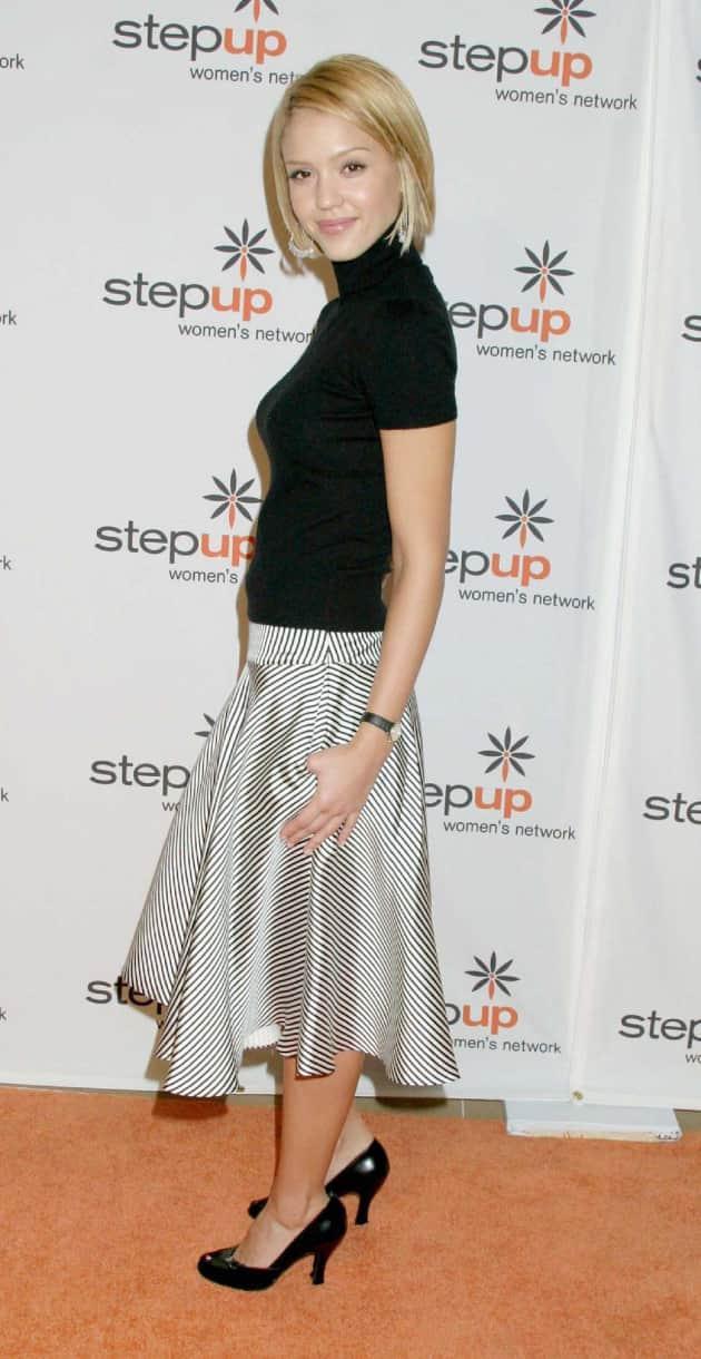 Jessica Alba Blonde Hair Photo
