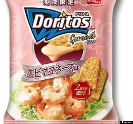 Shrimp Mayonnaise Doritos