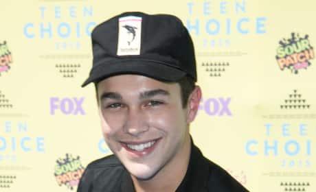 Austin Mahone at Teen Choice Awards