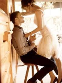 Mila Kunis and Justin Photo