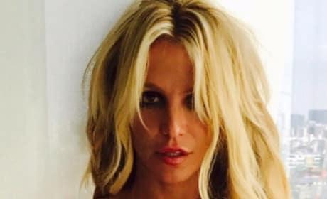 Britney Spears Looking Hot in Japan