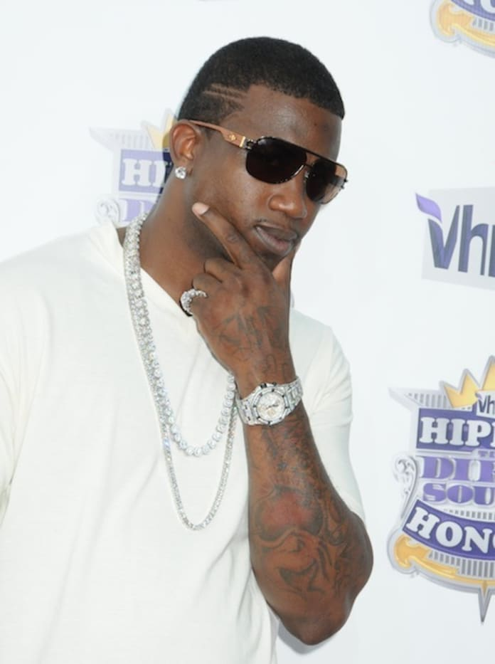 Gucci Mane Tattoos Face With Ice Cream Cone The Hollywood Gossip