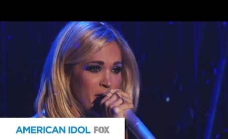 Carrie Underwood Performs on American Idol Finale