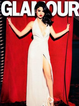 Selena Gomez Glamour Photo