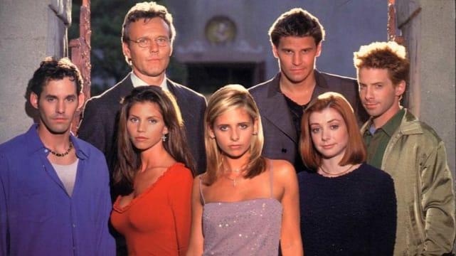 Buffy the vampire slayer the wb slash upn