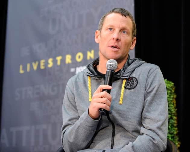 Lance Armstrong Photograph