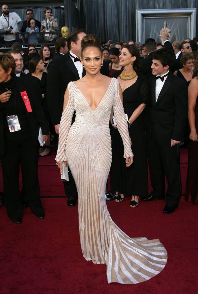 Jennifer Lopez at the Oscars