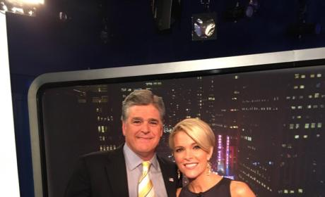 Megyn Kelly and Sean Hannity