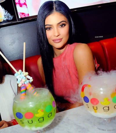 Kylie Jenner: The Sugar Factory in Orlando