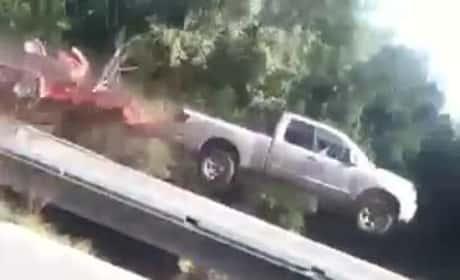 Flying Truck Fail Vine