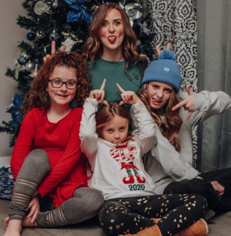 Leah Messer and Trio of Kids