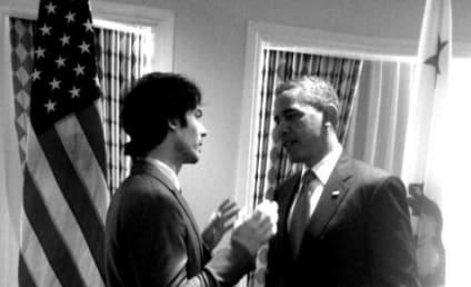 Ian Somerhalder, President Obama Talk Public Policy