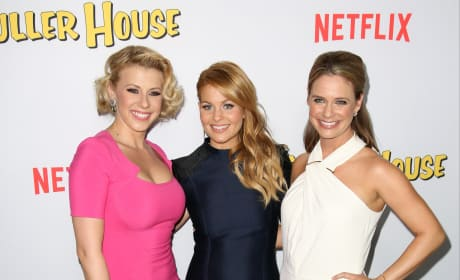 Candace Cameron Bure, Jodie Sweetin and Andrea Barber: Fuller House Premiere