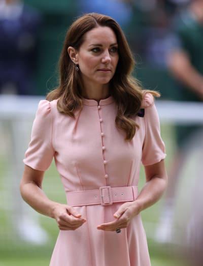 Kate Middleton at Wimbledon 2021