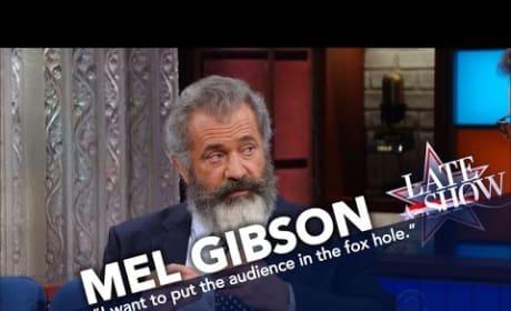 Mel Gibson Talks Hacksaw Ridge