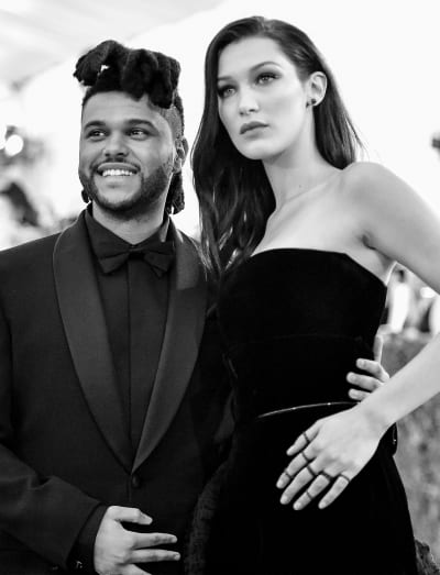 Bella Hadid and The Weeknd in 2016