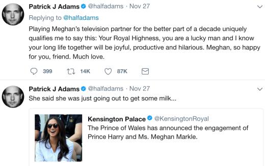 Adams tweet